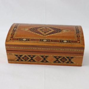 Shop Men's Jewelry Boxes! Vintage Wooden Handmade Marquetry Wood Jewelry Box, Syrian Jewelry Box, Mosaic Jewelry Box, Jewelry Box for Men, Jewelry Box for Women, Gift | Shop jewelry making and beading supplies, tools & findings for DIY jewelry making and crafts. #jewelrymaking #diyjewelry #jewelrycrafts #jewelrysupplies #beading #affiliate #ad