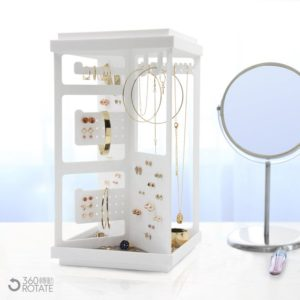 Shop Jewelry Organizers & Earring Racks! X Style Minimalist Desk Art Jewelry Organizer | Shop jewelry making and beading supplies, tools & findings for DIY jewelry making and crafts. #jewelrymaking #diyjewelry #jewelrycrafts #jewelrysupplies #beading #affiliate #ad