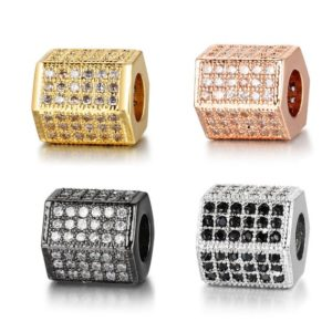 Shop Zircon Beads! Wholesale Hexagon CZ Beads, Brass Metal Bead, Micro Pave CZ Zircon Charms Beads 8x8mm 5pcs   Natural genuine other-shape Zircon beads for beading and jewelry making.  #jewelry #beads #beadedjewelry #diyjewelry #jewelrymaking #beadstore #beading #affiliate #ad