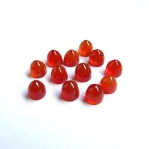 Shop Carnelian Cabochons! 5 pieces 5x5mm Carnelian Cabochon Bullet Shape gemstone, Carnelian Bullet Cabochon Gemstone, Carnelian bullet Shape Cabochon Gemstone | Natural genuine stones & crystals in various shapes & sizes. Buy raw cut, tumbled, or polished gemstones for making jewelry or crystal healing energy vibration raising reiki stones. #crystals #gemstones #crystalhealing #crystalsandgemstones #energyhealing #affiliate #ad