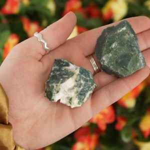 Shop Raw & Rough Agate Stones! Large Raw Tree Agate Rough Crystal | Natural genuine stones & crystals in various shapes & sizes. Buy raw cut, tumbled, or polished gemstones for making jewelry or crystal healing energy vibration raising reiki stones. #crystals #gemstones #crystalhealing #crystalsandgemstones #energyhealing #affiliate #ad