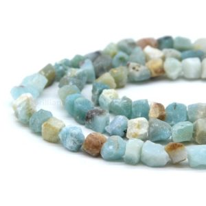 Shop Amazonite Chip & Nugget Beads! Raw Amazonite Tumble Beads, Amazonite Nugget Beads, Raw Amazonite Rough Drill, Raw Crystal, Raw Aqua Blue Gemstone Rough   Natural genuine chip Amazonite beads for beading and jewelry making.  #jewelry #beads #beadedjewelry #diyjewelry #jewelrymaking #beadstore #beading #affiliate #ad