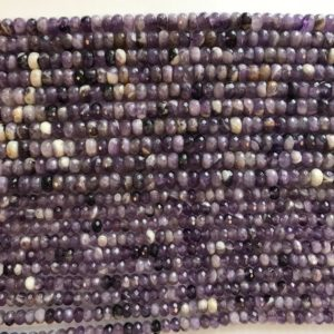 Shop Amethyst Faceted Beads! natural amethyst 6x3mm 8x4mm faceted roundelle Gemstone Beads – 15.5 inches strand   Natural genuine faceted Amethyst beads for beading and jewelry making.  #jewelry #beads #beadedjewelry #diyjewelry #jewelrymaking #beadstore #beading #affiliate #ad