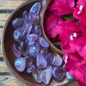 Shop Ametrine Stones & Crystals! Ametrine, Ametrine Tumble. Qty. 1 SMALL Tumble | Natural genuine stones & crystals in various shapes & sizes. Buy raw cut, tumbled, or polished gemstones for making jewelry or crystal healing energy vibration raising reiki stones. #crystals #gemstones #crystalhealing #crystalsandgemstones #energyhealing #affiliate #ad