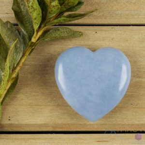 Angelite Crystal Heart – Self Care, Mom Gift, Home Decor, Healing Crystals And Stones, E0163 | Natural genuine stones & crystals in various shapes & sizes. Buy raw cut, tumbled, or polished gemstones for making jewelry or crystal healing energy vibration raising reiki stones. #crystals #gemstones #crystalhealing #crystalsandgemstones #energyhealing #affiliate #ad