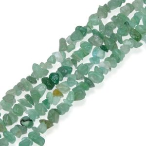 Shop Aventurine Chip & Nugget Beads! U Pick Top Quality Natural Green Aventurine Gemstone Free Form 5-8mm Gems Stone Chip Beads 33 Inch Per Strand for Jewelry Craft Making GZ1-1 | Natural genuine chip Aventurine beads for beading and jewelry making.  #jewelry #beads #beadedjewelry #diyjewelry #jewelrymaking #beadstore #beading #affiliate #ad