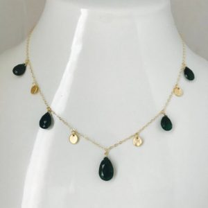 Shop Aventurine Necklaces! Good Luck Necklace Green Necklace Aventurine Necklace Gold charm Necklace Layering necklace Healing Necklace Minimalist Necklace  Green   Natural genuine Aventurine necklaces. Buy crystal jewelry, handmade handcrafted artisan jewelry for women.  Unique handmade gift ideas. #jewelry #beadednecklaces #beadedjewelry #gift #shopping #handmadejewelry #fashion #style #product #necklaces #affiliate #ad