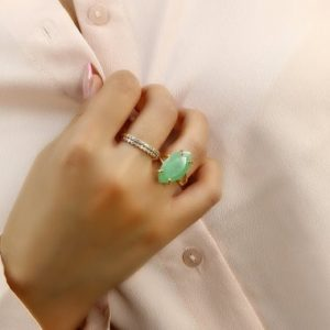 Shop Aventurine Rings! Vertical Marquise Aventurine Ring · Gold Gemstone Ring · Green Aventurine Ring · Long Marquise Ring · Prong Setting Ring · Split Gold Ring | Natural genuine Aventurine rings, simple unique handcrafted gemstone rings. #rings #jewelry #shopping #gift #handmade #fashion #style #affiliate #ad