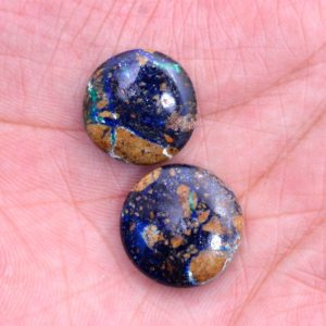 Shop Azurite Bead Shapes! Natural Aaa+ Azurite Gemstone 17mm-18mm Smooth Coin Briolette Beads   Rare Azurite Semi Precious Gemstone Briolette Beads For Jewelry Making   Natural genuine other-shape Azurite beads for beading and jewelry making.  #jewelry #beads #beadedjewelry #diyjewelry #jewelrymaking #beadstore #beading #affiliate #ad