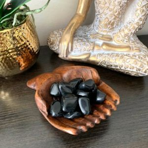 Shop Tumbled Obsidian Crystals & Pocket Stones! BLACK OBSIDIAN Tumbled Stone-Tumbled Stone-Healing Crystal-Natural Rock-Crystal Grid-Protection Stone-Pocket Stone-Chakra-Gemstone-Reiki | Natural genuine stones & crystals in various shapes & sizes. Buy raw cut, tumbled, or polished gemstones for making jewelry or crystal healing energy vibration raising reiki stones. #crystals #gemstones #crystalhealing #crystalsandgemstones #energyhealing #affiliate #ad