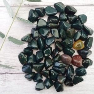 Shop Tumbled Bloodstone Crystals & Pocket Stones! Bloodstone Tumbled Stones, Reiki Infused Wire Wrapping Spiritual Stones | Natural genuine stones & crystals in various shapes & sizes. Buy raw cut, tumbled, or polished gemstones for making jewelry or crystal healing energy vibration raising reiki stones. #crystals #gemstones #crystalhealing #crystalsandgemstones #energyhealing #affiliate #ad
