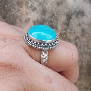 Shop Blue Chalcedony Rings! Aqua Chalcedony Ring,Chalcedony ring,925 sterling silver,BOHO chalceony ring,blue chalcedony ring,Aqua chalcedony jewelry Valantine's day | Natural genuine Blue Chalcedony rings, simple unique handcrafted gemstone rings. #rings #jewelry #shopping #gift #handmade #fashion #style #affiliate #ad