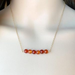 Shop Carnelian Necklaces! CARNELIAN NECKLACE – Raw Carnelian Necklace – Carnelian Gold Jewelry – July Birthstone – Chakra Necklace – Yoga Necklace – Crystal Gifts | Natural genuine Carnelian necklaces. Buy crystal jewelry, handmade handcrafted artisan jewelry for women.  Unique handmade gift ideas. #jewelry #beadednecklaces #beadedjewelry #gift #shopping #handmadejewelry #fashion #style #product #necklaces #affiliate #ad