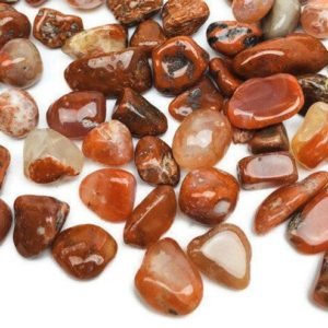 Shop Tumbled Carnelian Crystals & Pocket Stones! Carnelian Crystal (100G) XS Carnelian Chips White Red Orange Stone Tumbled Bulk Crystals Polished Gravel | Natural genuine stones & crystals in various shapes & sizes. Buy raw cut, tumbled, or polished gemstones for making jewelry or crystal healing energy vibration raising reiki stones. #crystals #gemstones #crystalhealing #crystalsandgemstones #energyhealing #affiliate #ad