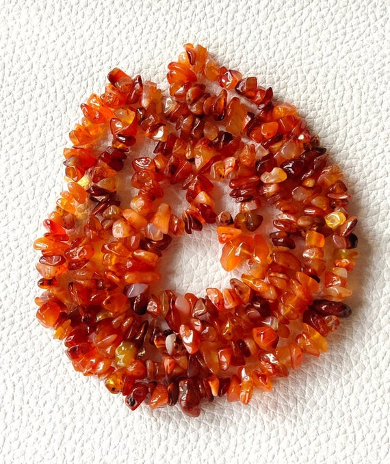 Carnelian,carnelian Chip Beads,natural Carnelian Chip,gemstone Beads,loose Beads,loose Chips,carnelian Chips,best Quality,34 Inch Strand