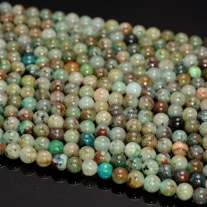 Shop Chrysocolla Round Beads! 5MM Genuine Shattuckite Chrysocolla Gemstone Grade A Round Beads 15 inch Full Strand BULK LOT 1,2,6,12 and 50(80009925-A189) | Natural genuine round Chrysocolla beads for beading and jewelry making.  #jewelry #beads #beadedjewelry #diyjewelry #jewelrymaking #beadstore #beading #affiliate #ad