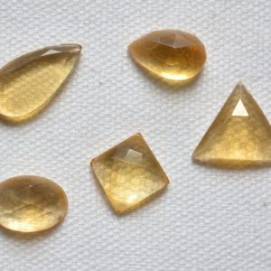 Shop Citrine Shapes! Mix Shape Stones, Citrine Gemstone, Checker Cut Citrine Stone, loose Gemstone, Gemstone For Jewelry Making, 8×13 – 9x18mm, 5 pcs Lot #AR1134 | Natural genuine stones & crystals in various shapes & sizes. Buy raw cut, tumbled, or polished gemstones for making jewelry or crystal healing energy vibration raising reiki stones. #crystals #gemstones #crystalhealing #crystalsandgemstones #energyhealing #affiliate #ad