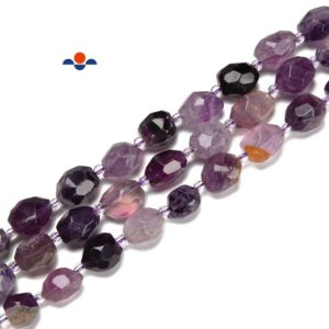 Shop Fluorite Chip & Nugget Beads! Purple Fluorite Faceted Nugget Beads Size 6×8-8x10mm / 8×10-10x12mm 15.5'' Str   Natural genuine chip Fluorite beads for beading and jewelry making.  #jewelry #beads #beadedjewelry #diyjewelry #jewelrymaking #beadstore #beading #affiliate #ad