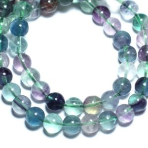 Shop Fluorite Bead Shapes! 10pc – stone beads – Fluorite balls 6mm 4558550026194 | Natural genuine other-shape Fluorite beads for beading and jewelry making.  #jewelry #beads #beadedjewelry #diyjewelry #jewelrymaking #beadstore #beading #affiliate #ad