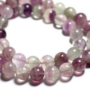 Shop Fluorite Bead Shapes! 4pc – stone beads – multicolored Fluorite balls 12mm – 4558550089465 | Natural genuine other-shape Fluorite beads for beading and jewelry making.  #jewelry #beads #beadedjewelry #diyjewelry #jewelrymaking #beadstore #beading #affiliate #ad