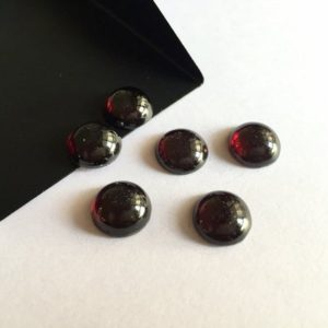 Shop Garnet Round Beads! 10 Pieces Wholesale 11x11mm Each Garnet Round Shaped Smooth Flat Back Loose Cabochons SKU-G9   Natural genuine round Garnet beads for beading and jewelry making.  #jewelry #beads #beadedjewelry #diyjewelry #jewelrymaking #beadstore #beading #affiliate #ad