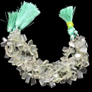 Shop Green Amethyst Beads! Aaa+ Green Amethyst Faceted Nugget Beads   Natural Amethyst Semi Precious Gemstone Step Cut Fancy Tumbled Side Drill Beads   8inch Strand   Natural genuine chip Green Amethyst beads for beading and jewelry making.  #jewelry #beads #beadedjewelry #diyjewelry #jewelrymaking #beadstore #beading #affiliate #ad