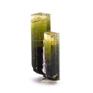 Shop Green Tourmaline Stones & Crystals! Elbaite Tourmaline (Pakistan), raw tourmaline, natural tourmaline, tourmaline, green tourmaline, tourmaline crystal, bi color tourmaline | Natural genuine stones & crystals in various shapes & sizes. Buy raw cut, tumbled, or polished gemstones for making jewelry or crystal healing energy vibration raising reiki stones. #crystals #gemstones #crystalhealing #crystalsandgemstones #energyhealing #affiliate #ad