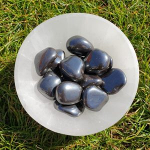 Shop Tumbled Hematite Crystals & Pocket Stones! Hematite Tumbled Stones   Natural genuine stones & crystals in various shapes & sizes. Buy raw cut, tumbled, or polished gemstones for making jewelry or crystal healing energy vibration raising reiki stones. #crystals #gemstones #crystalhealing #crystalsandgemstones #energyhealing #affiliate #ad