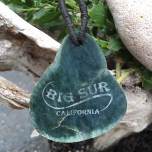 Shop Jade Necklaces! Big Sur Jade and Leather Necklace with Native American Weave | Natural genuine Jade necklaces. Buy crystal jewelry, handmade handcrafted artisan jewelry for women.  Unique handmade gift ideas. #jewelry #beadednecklaces #beadedjewelry #gift #shopping #handmadejewelry #fashion #style #product #necklaces #affiliate #ad