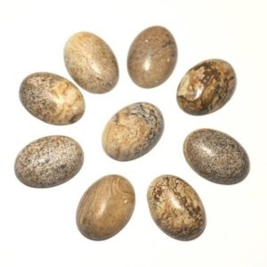 Shop Jasper Cabochons! 1pc – Cabochon gemstone – Jasper, Beige oval 18x13mm – 8741140005495   Natural genuine stones & crystals in various shapes & sizes. Buy raw cut, tumbled, or polished gemstones for making jewelry or crystal healing energy vibration raising reiki stones. #crystals #gemstones #crystalhealing #crystalsandgemstones #energyhealing #affiliate #ad