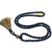 6-7 Mm Aaa Grade Kyanite Mala Beads Necklace, Kyanite Jewelry, Kyanite Knotted Healing Mala Beads, Energized 108 Genuine Kyanite Gemstone Ma | Natural genuine Gemstone jewelry. Buy crystal jewelry, handmade handcrafted artisan jewelry for women.  Unique handmade gift ideas. #jewelry #beadedjewelry #beadedjewelry #gift #shopping #handmadejewelry #fashion #style #product #jewelry #affiliate #ad