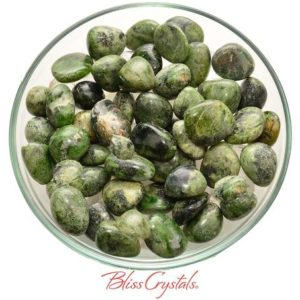1 Medium GREEN KYANITE Tumbled Stone Prosperity Earth Spirit Communication #GK02 | Natural genuine stones & crystals in various shapes & sizes. Buy raw cut, tumbled, or polished gemstones for making jewelry or crystal healing energy vibration raising reiki stones. #crystals #gemstones #crystalhealing #crystalsandgemstones #energyhealing #affiliate #ad