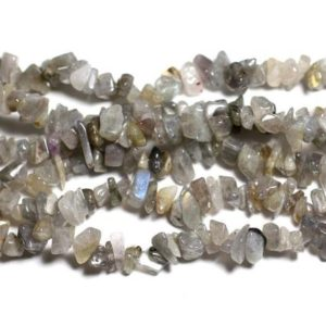 Shop Labradorite Chip & Nugget Beads! Thread 280pc approx 89cm – beads of stone – Labradorite Chips 5-10mm beads   Natural genuine chip Labradorite beads for beading and jewelry making.  #jewelry #beads #beadedjewelry #diyjewelry #jewelrymaking #beadstore #beading #affiliate #ad