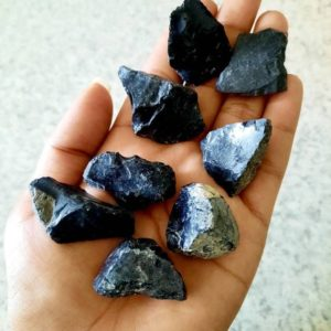 Shop Raw & Rough Obsidian Stones! Large Chunk Raw Obsidian   Natural genuine stones & crystals in various shapes & sizes. Buy raw cut, tumbled, or polished gemstones for making jewelry or crystal healing energy vibration raising reiki stones. #crystals #gemstones #crystalhealing #crystalsandgemstones #energyhealing #affiliate #ad