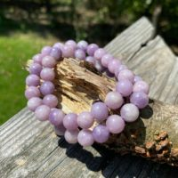 8mm Lepidolite Bracelets – Stretchy – Reiki Charged – Healing Energy – Ease Anxiety & Depression – Restful Sleep – Tranquility – Calming – | Natural genuine Gemstone jewelry. Buy crystal jewelry, handmade handcrafted artisan jewelry for women.  Unique handmade gift ideas. #jewelry #beadedjewelry #beadedjewelry #gift #shopping #handmadejewelry #fashion #style #product #jewelry #affiliate #ad