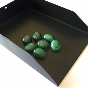 Shop Malachite Cabochons! 6 Pieces 10x7mm Natural Malachite Oval Shaped Smooth Loose Cabochon Lot SKU-ML4 | Natural genuine stones & crystals in various shapes & sizes. Buy raw cut, tumbled, or polished gemstones for making jewelry or crystal healing energy vibration raising reiki stones. #crystals #gemstones #crystalhealing #crystalsandgemstones #energyhealing #affiliate #ad