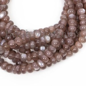 Shop Moonstone Rondelle Beads! Chocolate Moonstone Beads, Chocolate Moonstone Smooth Beads, Plain Rondelle Beads, Chocolate Moonstone Rondelle Plain Beads, moonstone   Natural genuine rondelle Moonstone beads for beading and jewelry making.  #jewelry #beads #beadedjewelry #diyjewelry #jewelrymaking #beadstore #beading #affiliate #ad