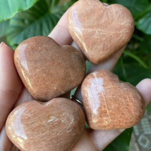 Shop Moonstone Shapes! peach moonstone heart | Natural genuine stones & crystals in various shapes & sizes. Buy raw cut, tumbled, or polished gemstones for making jewelry or crystal healing energy vibration raising reiki stones. #crystals #gemstones #crystalhealing #crystalsandgemstones #energyhealing #affiliate #ad