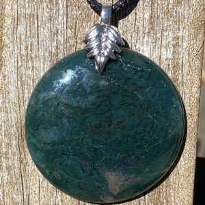 Shop Moss Agate Necklaces! Moss Agate Healing Stone Necklace with Positive Healing Energy!   Natural genuine Moss Agate necklaces. Buy crystal jewelry, handmade handcrafted artisan jewelry for women.  Unique handmade gift ideas. #jewelry #beadednecklaces #beadedjewelry #gift #shopping #handmadejewelry #fashion #style #product #necklaces #affiliate #ad