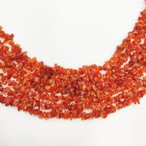 Shop Carnelian Chip & Nugget Beads! Natural Carnelian Chalcedony Coroline Gemstone Beads, Fine Quality Uncut Chips Beads Strand G46G , Freeform Raw Nuggets For Jewelry Making | Natural genuine chip Carnelian beads for beading and jewelry making.  #jewelry #beads #beadedjewelry #diyjewelry #jewelrymaking #beadstore #beading #affiliate #ad