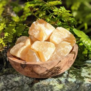Shop Orange Calcite Stones & Crystals! Orange Calcite Raw Ethically Sourced | Natural genuine stones & crystals in various shapes & sizes. Buy raw cut, tumbled, or polished gemstones for making jewelry or crystal healing energy vibration raising reiki stones. #crystals #gemstones #crystalhealing #crystalsandgemstones #energyhealing #affiliate #ad