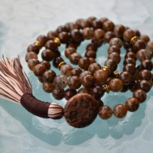Shop Picture Jasper Necklaces! Picture Jasper Sterling Silver Mala Beads Necklace, Quit Smoking, Clear toxins, Stimulates Immune system, Overcome Fear, connecting to earth | Natural genuine Picture Jasper necklaces. Buy crystal jewelry, handmade handcrafted artisan jewelry for women.  Unique handmade gift ideas. #jewelry #beadednecklaces #beadedjewelry #gift #shopping #handmadejewelry #fashion #style #product #necklaces #affiliate #ad