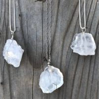 Quartz; Quartz Crystal; White Quartz Crystal; Chakra Pendant; Clear Quartz; Quartz Crystal Pendant; Quartz Crystal Necklace; Sterling Silver   Natural genuine Gemstone jewelry. Buy crystal jewelry, handmade handcrafted artisan jewelry for women.  Unique handmade gift ideas. #jewelry #beadedjewelry #beadedjewelry #gift #shopping #handmadejewelry #fashion #style #product #jewelry #affiliate #ad