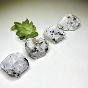 Rainbow Moonstone Rough | Natural genuine stones & crystals in various shapes & sizes. Buy raw cut, tumbled, or polished gemstones for making jewelry or crystal healing energy vibration raising reiki stones. #crystals #gemstones #crystalhealing #crystalsandgemstones #energyhealing #affiliate #ad