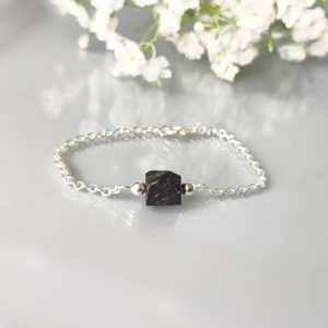 Shop Black Tourmaline Bracelets! Raw black tourmaline bracelet, Black tourmaline jewelry, Rough gemstone jewellery, gift for woman | Natural genuine Black Tourmaline bracelets. Buy crystal jewelry, handmade handcrafted artisan jewelry for women.  Unique handmade gift ideas. #jewelry #beadedbracelets #beadedjewelry #gift #shopping #handmadejewelry #fashion #style #product #bracelets #affiliate #ad