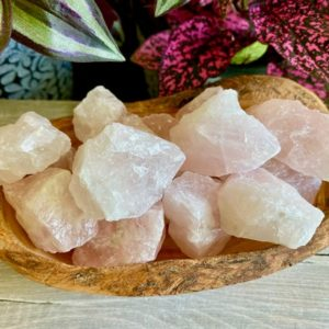 Shop Raw & Rough Rose Quartz Stones! Medium Red Rose Quartz Raw Heart Chakra Healing Reiki Charged Love Compassion Soul Mate Worry Stone High Energy Vibration Free Ebook | Natural genuine stones & crystals in various shapes & sizes. Buy raw cut, tumbled, or polished gemstones for making jewelry or crystal healing energy vibration raising reiki stones. #crystals #gemstones #crystalhealing #crystalsandgemstones #energyhealing #affiliate #ad
