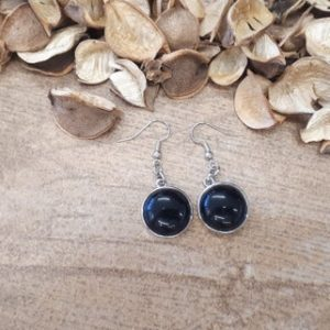 Shop Black Tourmaline Earrings! Round Black Tourmaline Earrings – Silver Drop Earrings – Tourmaline Dangle Earrings – Round Gemstone Jewelry – Silver Earrings for Woman | Natural genuine Black Tourmaline earrings. Buy crystal jewelry, handmade handcrafted artisan jewelry for women.  Unique handmade gift ideas. #jewelry #beadedearrings #beadedjewelry #gift #shopping #handmadejewelry #fashion #style #product #earrings #affiliate #ad