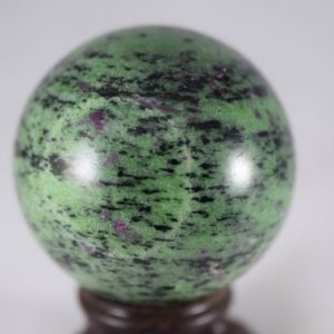 Shop Ruby Zoisite Shapes! Ruby Zoisite Sphere | Natural genuine stones & crystals in various shapes & sizes. Buy raw cut, tumbled, or polished gemstones for making jewelry or crystal healing energy vibration raising reiki stones. #crystals #gemstones #crystalhealing #crystalsandgemstones #energyhealing #affiliate #ad