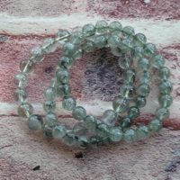 Gorgeous Smooth Green Rutilated Quartz Bracelet Aaa Grade | Natural genuine Gemstone jewelry. Buy crystal jewelry, handmade handcrafted artisan jewelry for women.  Unique handmade gift ideas. #jewelry #beadedjewelry #beadedjewelry #gift #shopping #handmadejewelry #fashion #style #product #jewelry #affiliate #ad