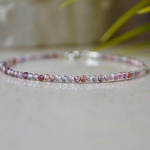 Shop Spinel Bracelets! Multi Color Spinel Bracelet – Bracelet Femme, Genuine Spinel Bracelet, Faceted Spinel Bracelet, Dainty Gemstone Jewelry, Thin Spinel Jewelry | Natural genuine Spinel bracelets. Buy crystal jewelry, handmade handcrafted artisan jewelry for women.  Unique handmade gift ideas. #jewelry #beadedbracelets #beadedjewelry #gift #shopping #handmadejewelry #fashion #style #product #bracelets #affiliate #ad